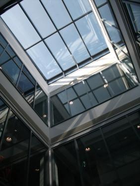 Glazed atrium