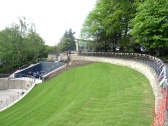 View of Heritage Centre across the amphitheatre