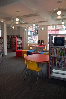Children's library area