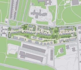 Urban living masterplan 150 homes