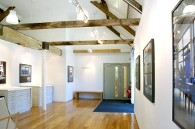 Gallery entrance interior