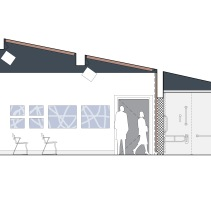 Queens' Hall studio theatre proposals