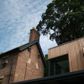 Rangers office overlooking Park and sedum roof