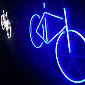 Neon Bikes by Robyn Wright (UK)