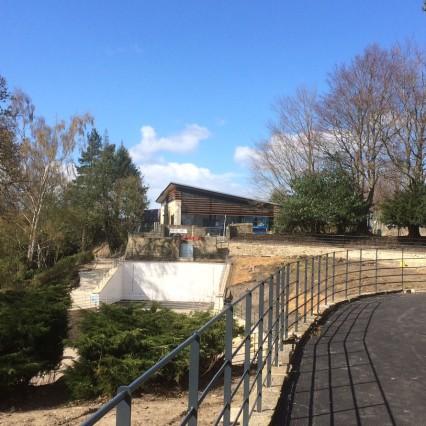 View across the amphitheatre