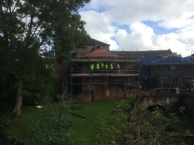 MGA led tours of works on site