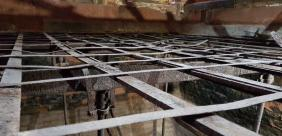 Detailed survey of metalwork to oat drying kiln