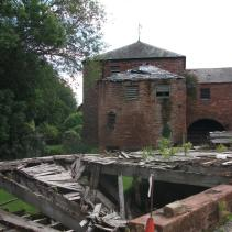 TAIL RACE AND MILL PRIOR TO RESTORATION WORKS